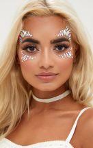 make carnaval com aplique de strass cristais festival 15