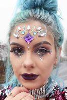 make carnaval com aplique de strass cristais festival 6