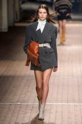 isabel-marant-fall-2018-runway-oversized-blazer-bow-blouse-fringed-blouse-cowboy-boots