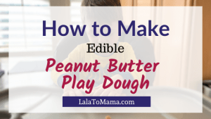Peanut Butter Play Dough
