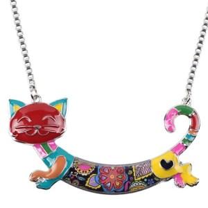 Cat Choker Necklace