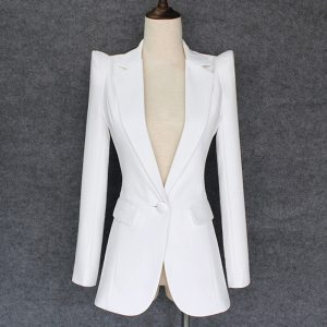 Stylish Designer Blazers Single Button Blazer Jacket