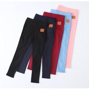 Casual Girls Long Trousers Children's Pencil Pants