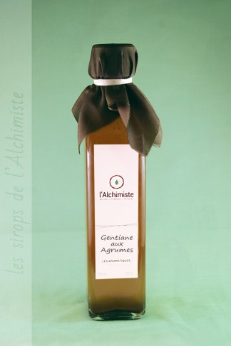 Sirop artisanal Gentiane aux Agrumes de l'Alchimiste