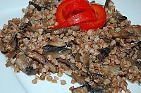 Hrisca cu ciuperci - Pas 7