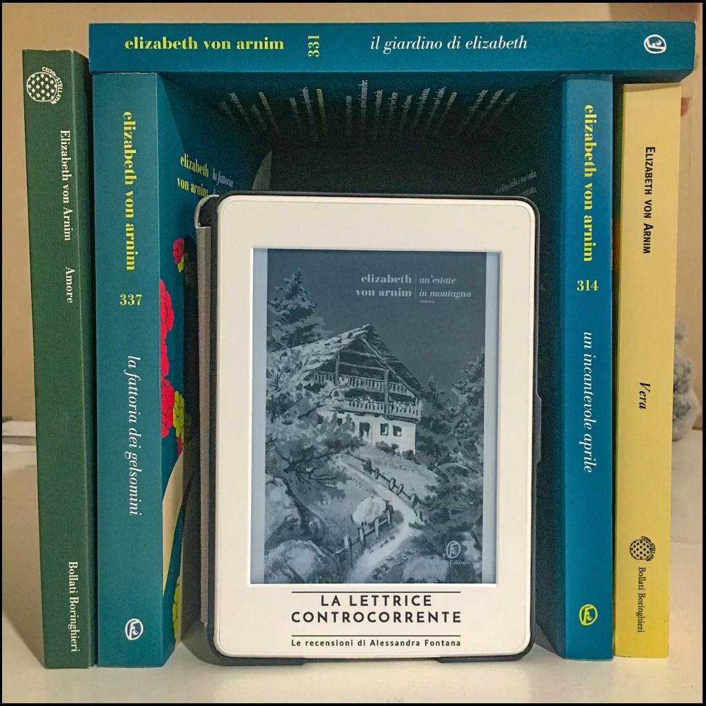 RECENSIONE: Un'estate in montagna ( Elizabeth Von Armin)