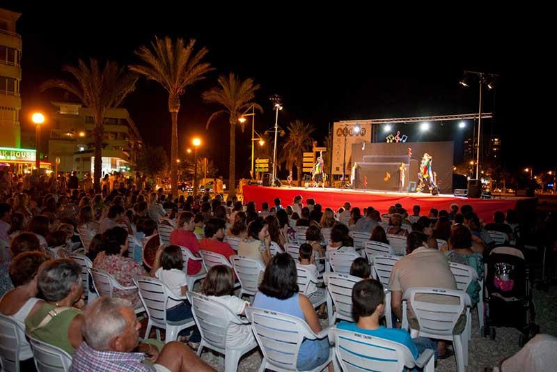 Cerca de un millar de personas este fin de semana en los actos culturales de Estiu Festiu
