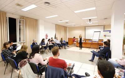 """Una veintena de personas participan en la jornada de coaching """"Ponte las pilas"""" organizada por Coempa"""