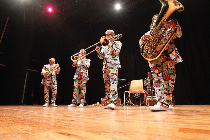 Bozen Brass Quintet convence al público de l'Alfàs del Pi
