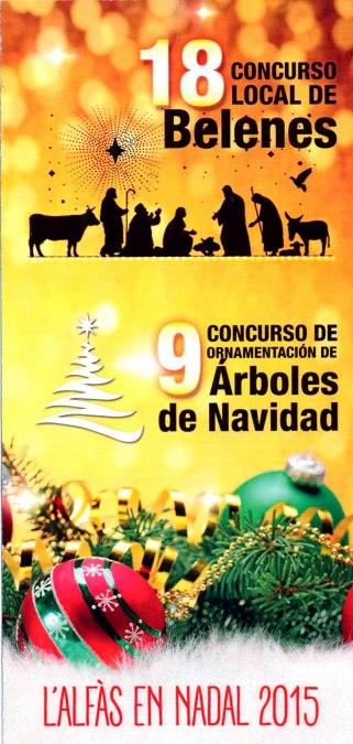 La próxima semana finaliza el plazo para inscribirse en los concursos de Belenes y Árboles de Navidad que convoca la concejalía de Cultura