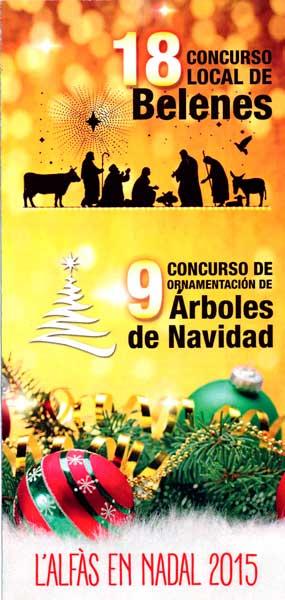 La concejalía de Cultura convoca los concursos de Belenes y Árboles de Navidad