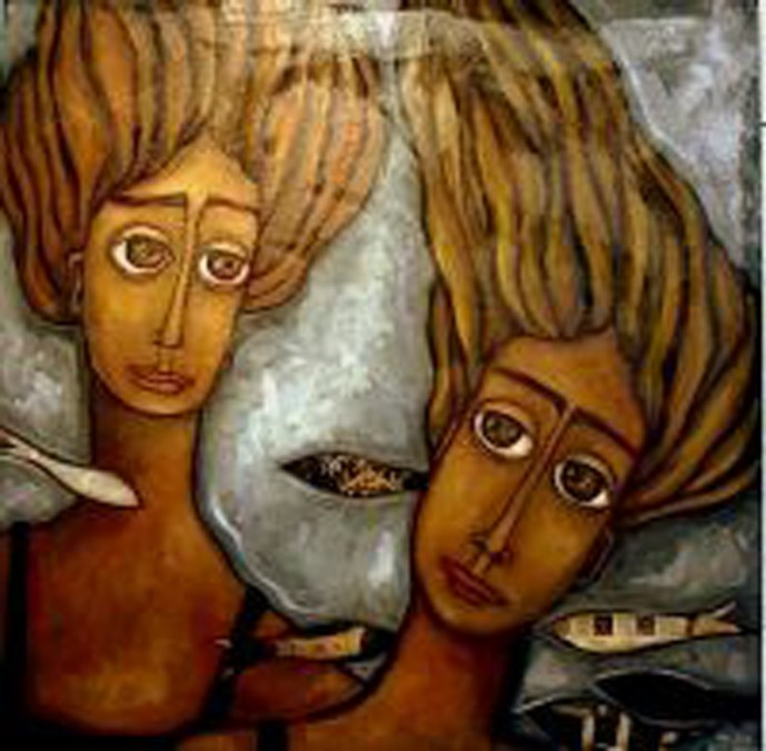 """""""Juego de damas"""" de Olga Aparicio en la Fundación Frax"""