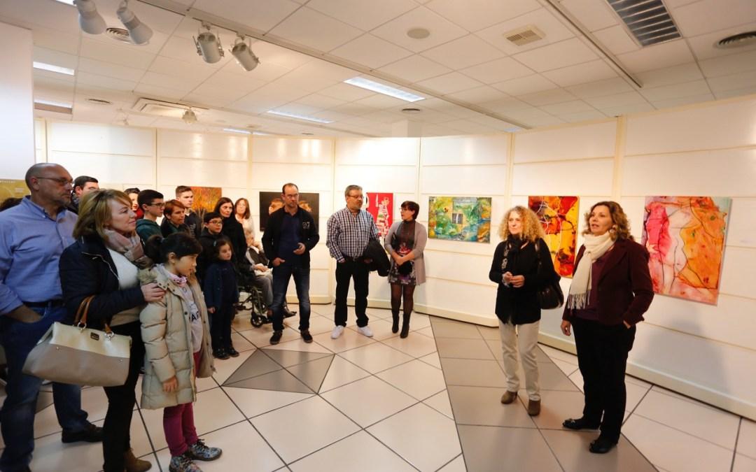 Exposición colectiva de ArtAvant en la casa de cultura