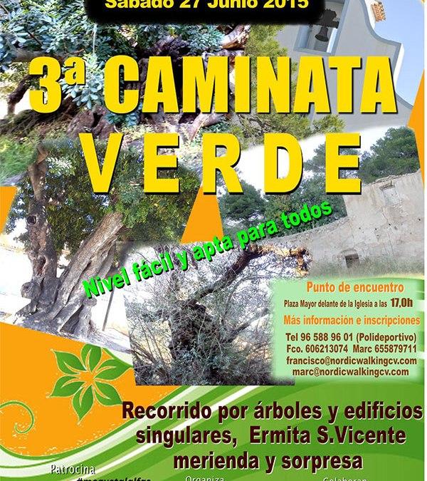 3ª caminata verde entre árboles y edificios singulares de l'Alfàs del Pi