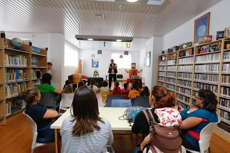 Más de 300 niños participan en las actividades de animación lectora promovidas por la concejalía de Educación