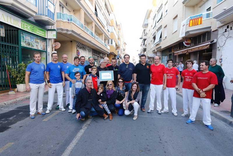 Homenaje a Gregorio Santamaría Pérez por su dedicación al mundo de la pilota valenciana
