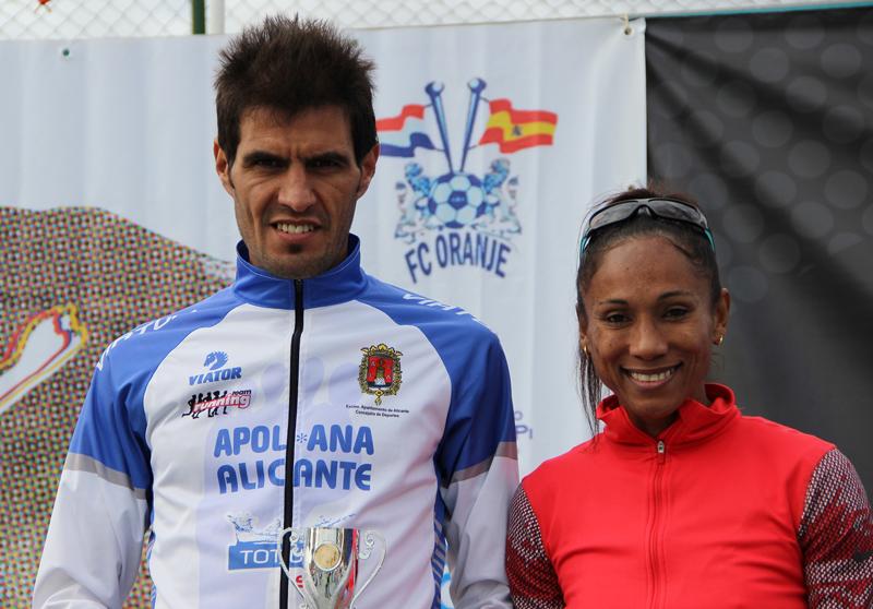 Mohammed Bouceta  y Yamila González han ganado  Las X millas más bonitas de la Costa Blanca.