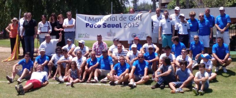 El  Domingo se celebró el I Torneo Memorial Paco Saval de Golf