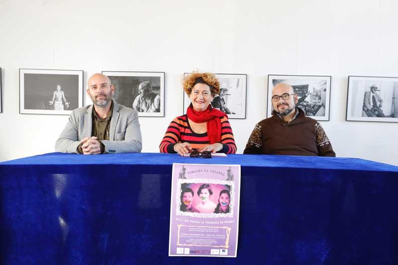 Les Escoles Velles acogen el jueves una charla informativa y recital poético sobre violencia de género