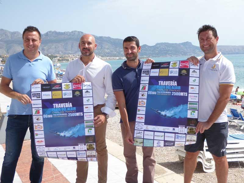 La X Travesía a nado del Albir que organiza el Club Finisher de la  Nucía será el domingo 6 de septiembre.