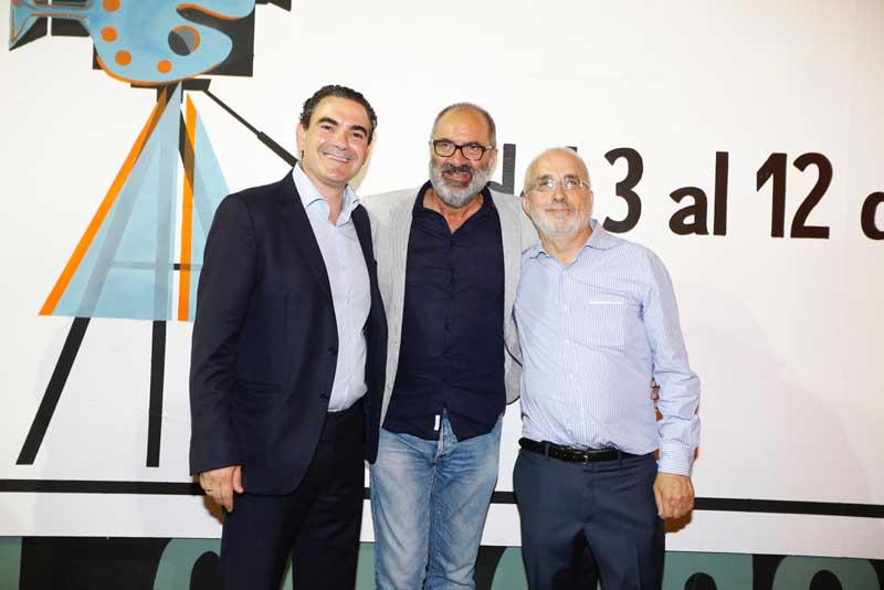 Emociones a flor de piel en el homenaje del Festival de Cine de L'Alfàs al actor Joaquín Climent