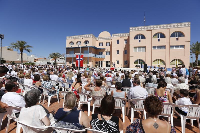 L'Alfàs del Pi se convierte por unas horas en la capital de Noruega