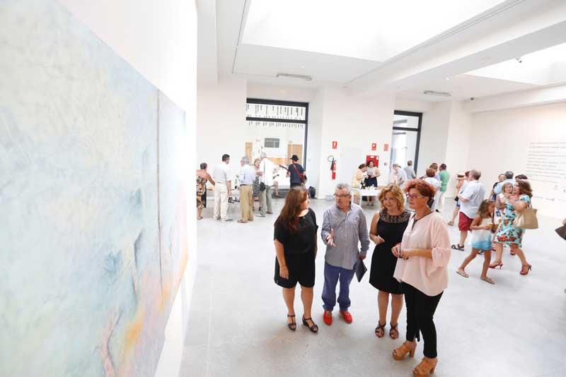 Ya se puede visitar la exposición de Antonio Ballesta en la Fundación Frax