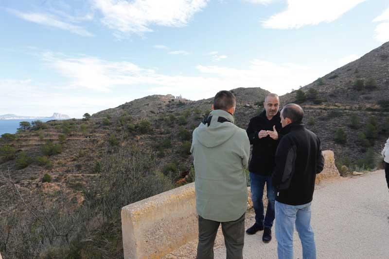 Se retoma el proyecto de recuperación de cultivos tradicionales en Serra Gelada