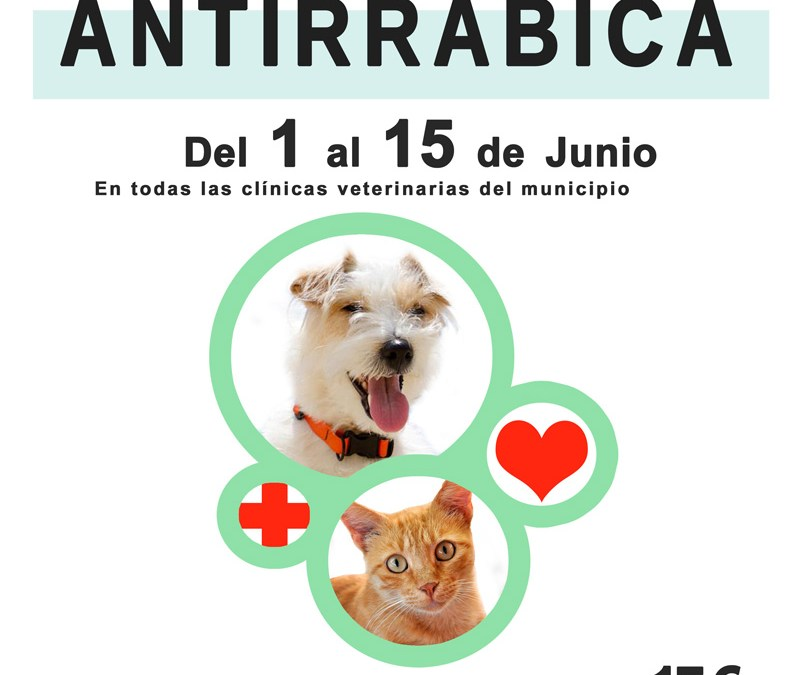 Comienza la campaña de vacunación antirrábica y desparasitación