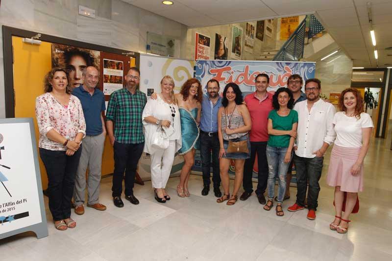 """El Festival de Webseries """"Fidewa"""" deja su sello en el Festival de Cine de L'Alfàs"""
