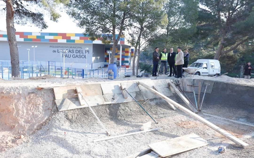 El nuevo Skatepark de l'Alfàs del Pi estará finalizado en abril