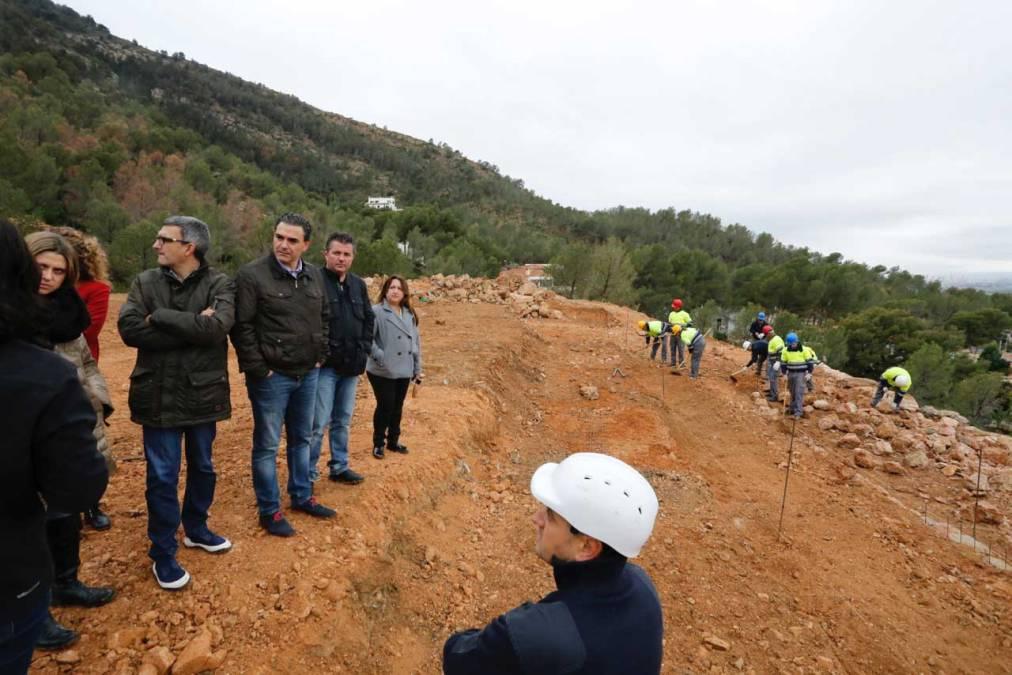 El Ayuntamiento de l'Alfàs del Pi trabaja en la puesta en valor de la cantera de Serra Gelada