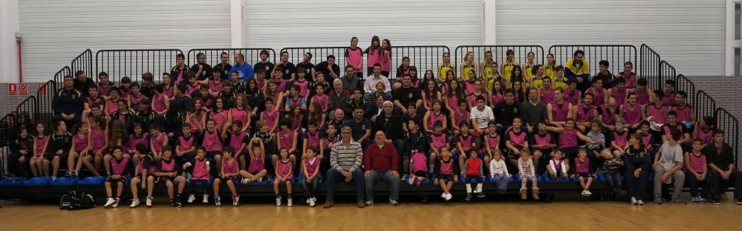El club de bàsket Terralfàs se presenta el domingo ante su afición.
