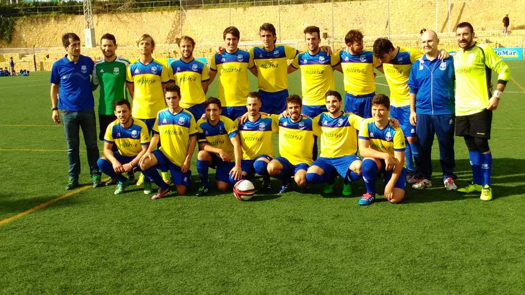 Resultados de los equipos de fútbol de l'Alfàs del Pi  el fin de semana del 13 y 14 de febrero.