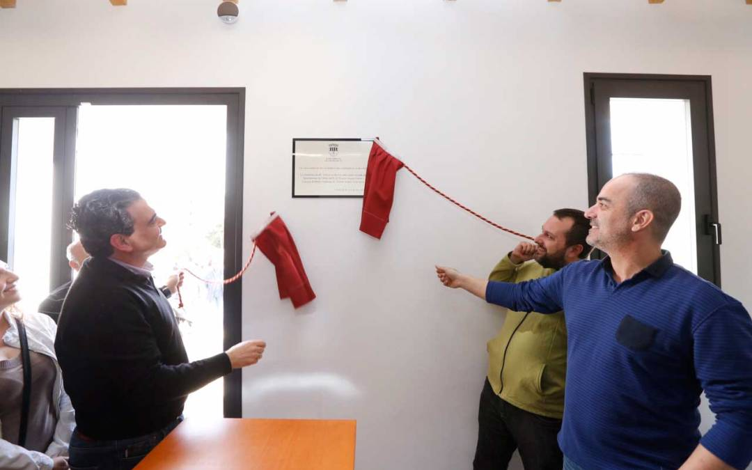 Inaugurada la primera fase del nuevo Centro de Educación Ambiental Carabineros