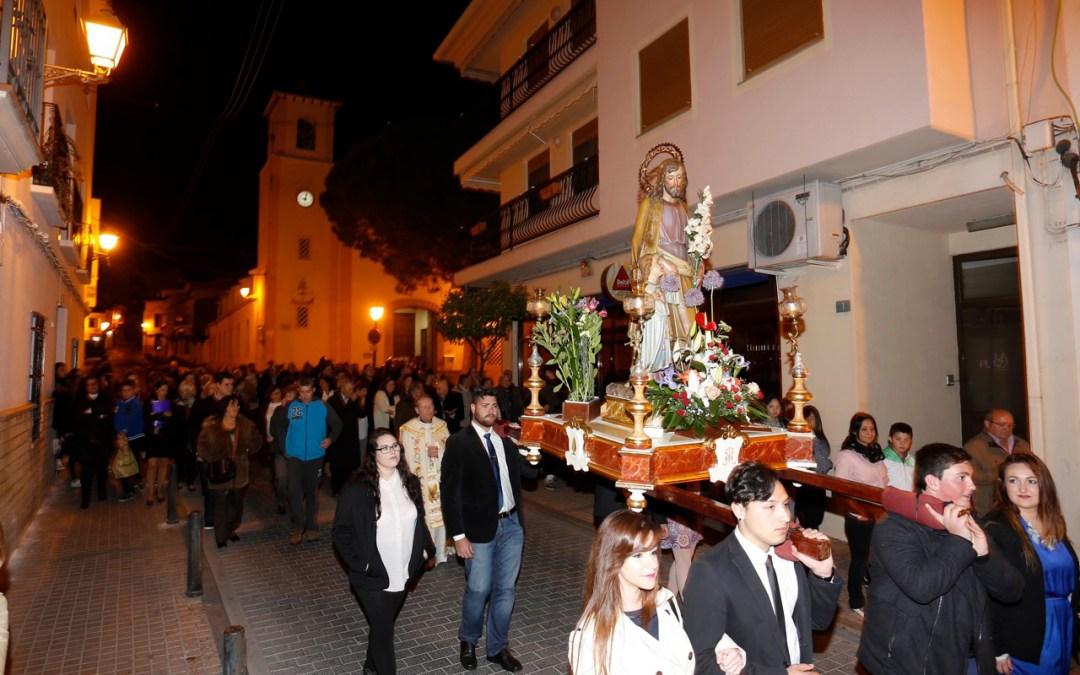 Más de 500 personas participan en las fiestas de San José organizadas por las mayoralas de la Purísima