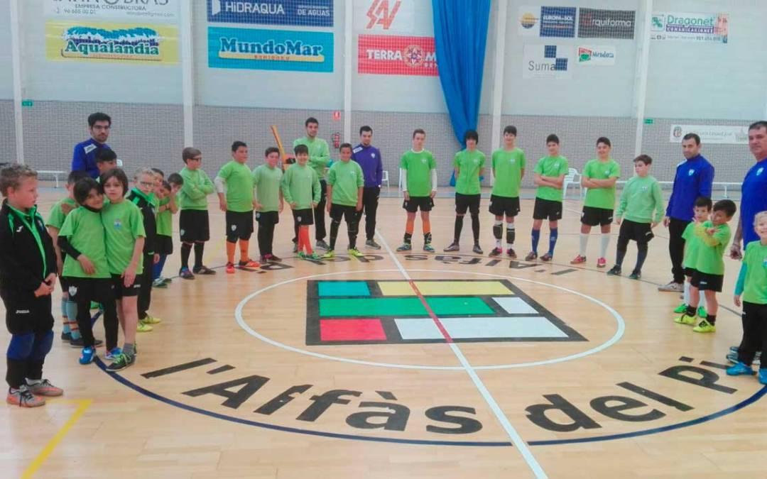 22 jugadores han participado en una nueva jornada de tecnificación organizada por el Club de Fútbol Sala de l'Alfàs del Pi
