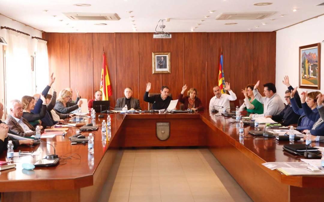 El presupuesto del Ayuntamiento de l'Alfàs del Pi para 2016 asciende a 20'2 millones de euros