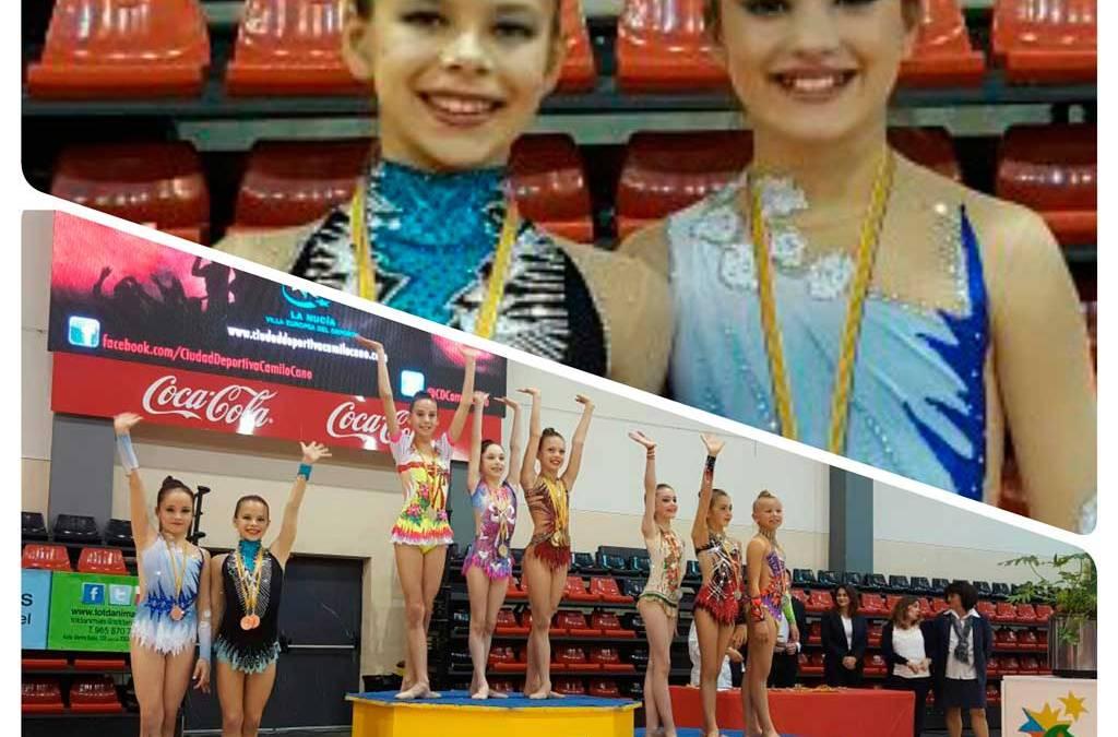 Dos bronces para las gimnastas alfacinas en la  fase provincial del Campeonato de España Individual y de Clubes.