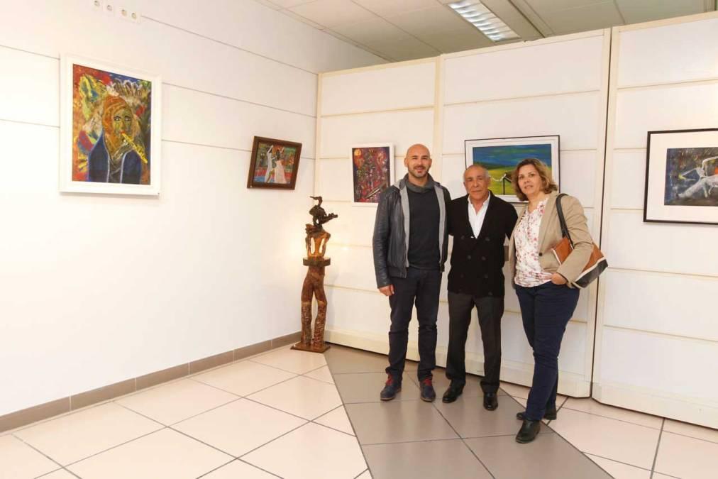 Rebahi Mano expone en la Casa de Cultura de l'Alfàs