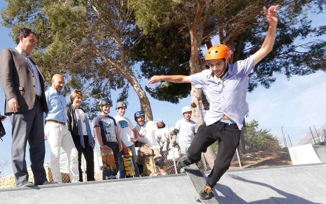 Se abre al público la primera fase del Skatepark de l'Alfàs