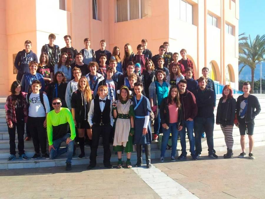 Medio centenar de jóvenes alfasinos viajaron al Salón del Manga y la Cultura Japonesa de Alicante
