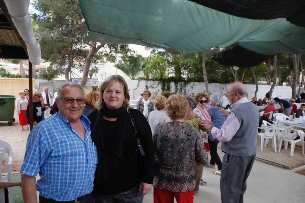 Cerca de 300 mayores participan en la jornada de convivencia de la Semana de la Tercera Edad