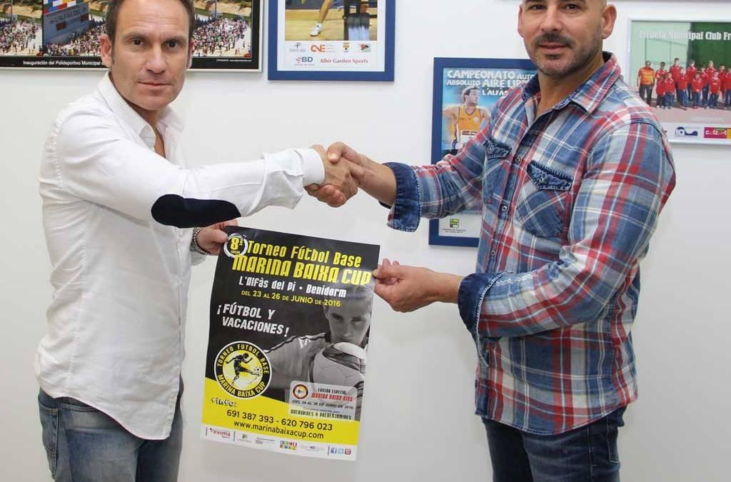La concejalia de deportes ultima los detalles  de la 8ª edición de la Marina Baixa  Cup de Fútbol