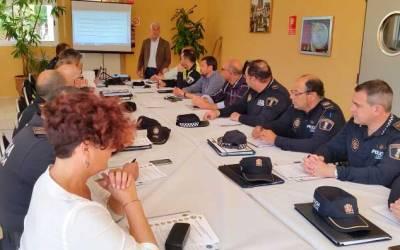La Comisión Comarcal de Prevención de la Seguridad Local cumple en un 98% la Carta de Compromisos de 2015