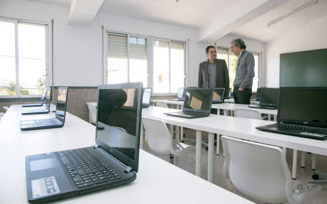 Finalizan las obras del Centro de Formación Ocupacional de l'Alfàs del Pi
