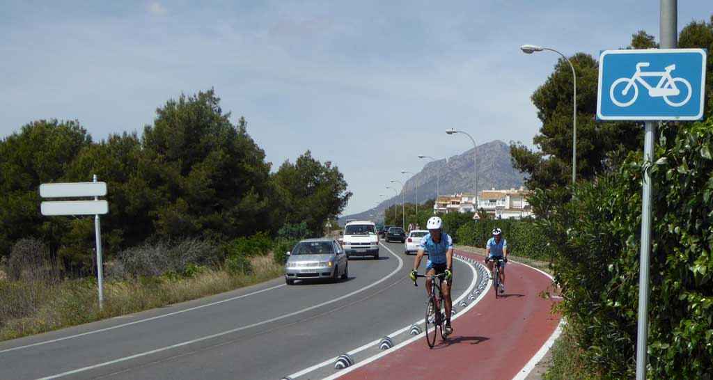La ciclovía del camí de la Mar ya está operativa