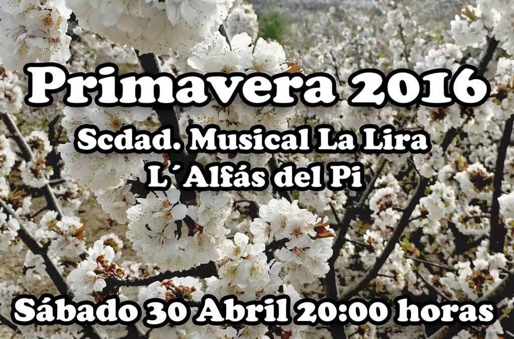 La Sociedad Musical La Lira hará vibrar a l'Alfàs del Pi con su 'Concierto de Primavera'
