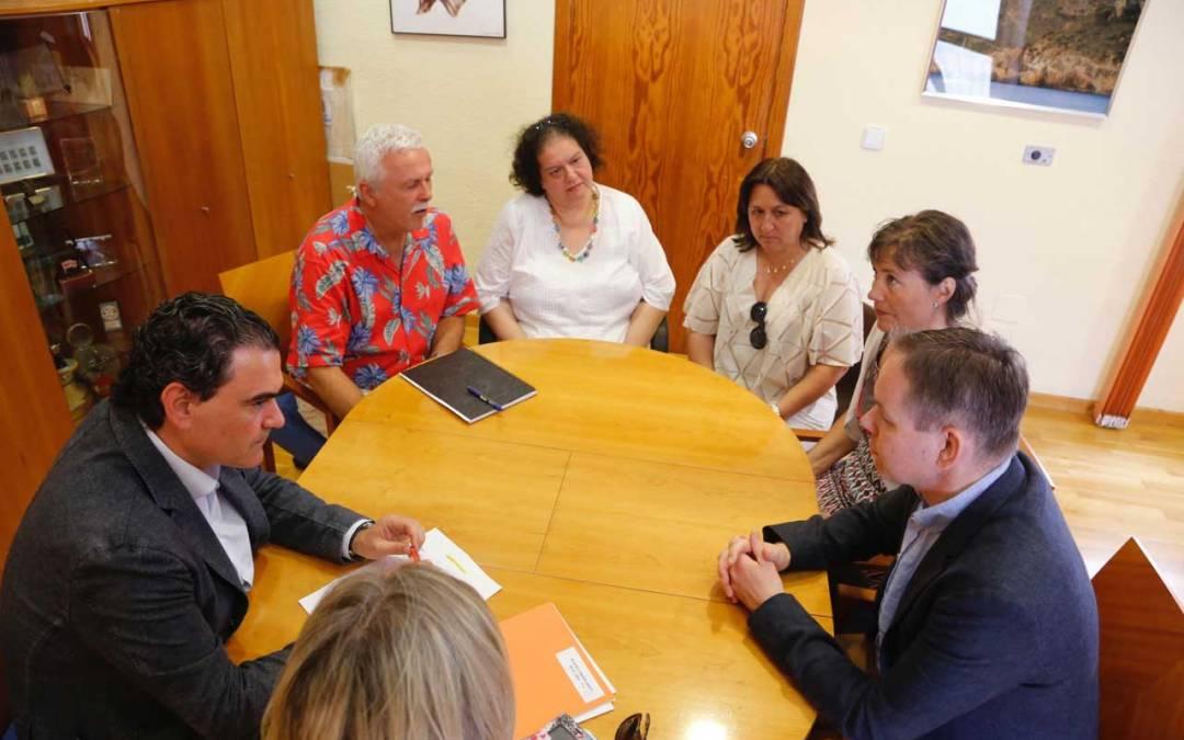 El ayuntamiento de l'Alfàs del Pi y la Fundación Betanien exploran nuevas vías de colaboración mutua