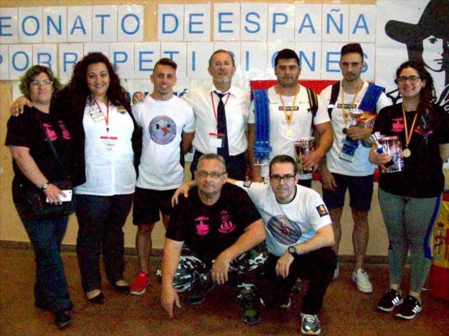 Gran triunfo de las alzadores de la Marina Baixa en el  VIII Campeonato de España celebrado en Finestrat